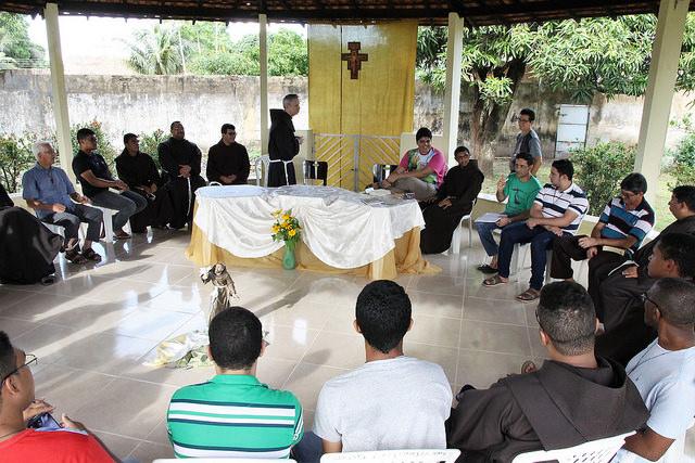 Encontro da Formação Inicial com o Fr. Michael Perry