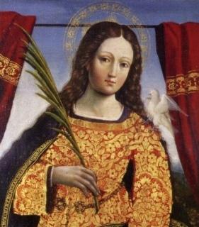 Santa Eulália, virgem e mártir
