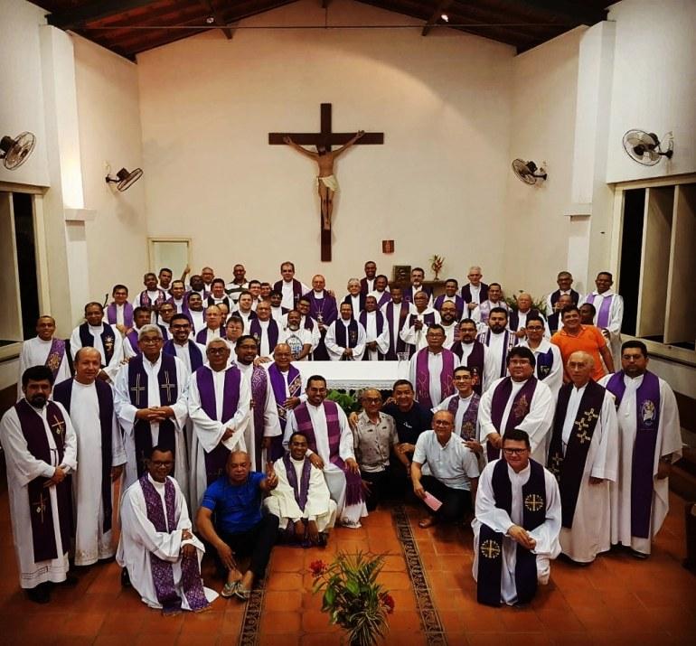 Retiro anual do Clero de Teresina finaliza com plenária