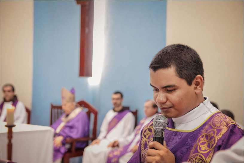 Frei Antônio Clécio é ordenado Diácono em São Luis, MA
