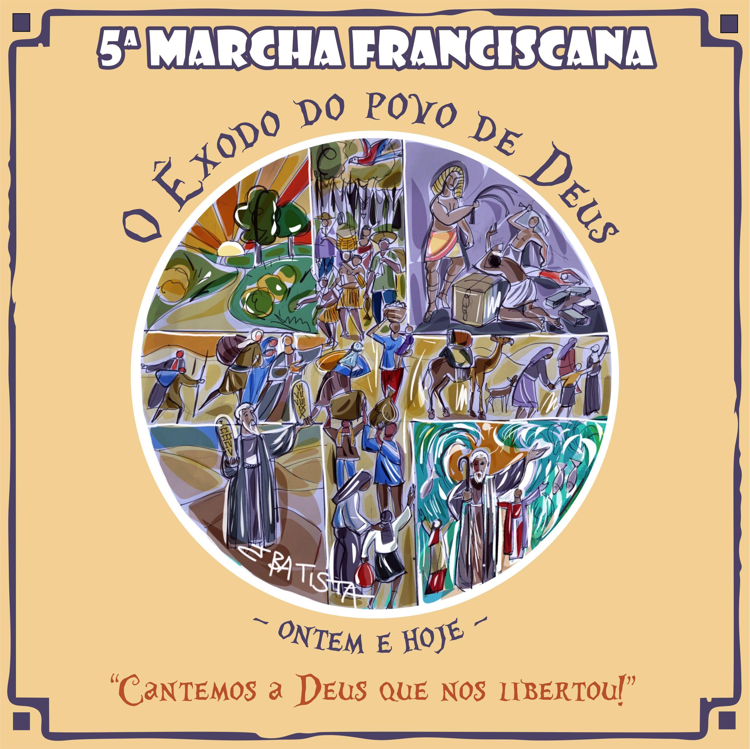 Aberta as inscrições para a 5ª Marcha Franciscana