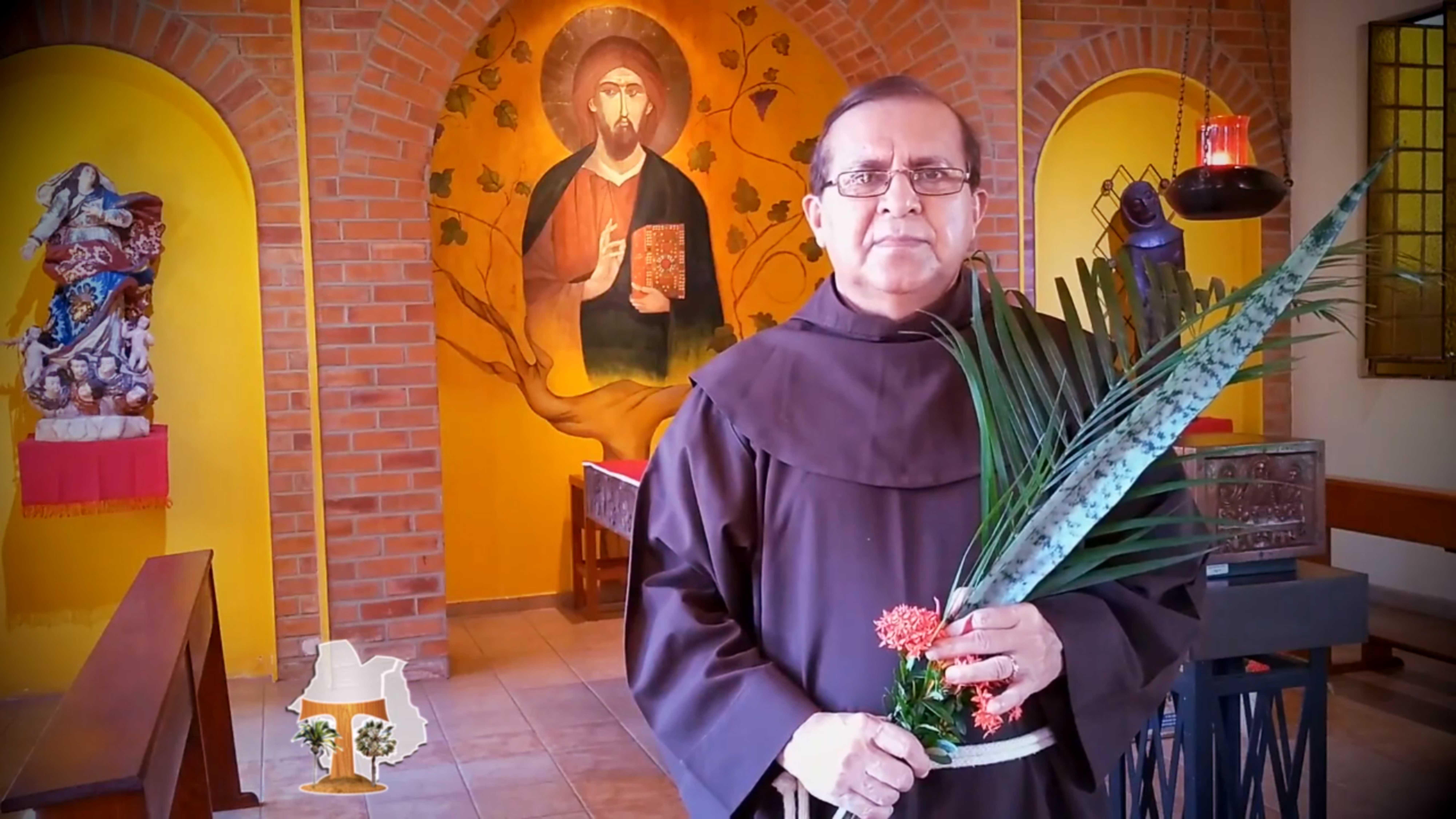 Palavra do Ministro Provincial pela ocasião do Domingo de Ramos