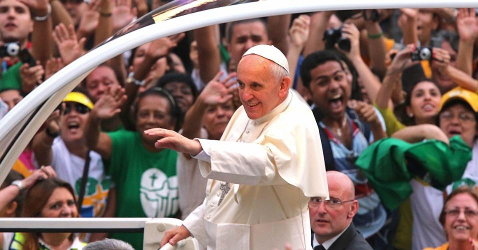 "Papa no Rio: o verdadeiro ""jeitinho brasileiro"" é a solidariedade"