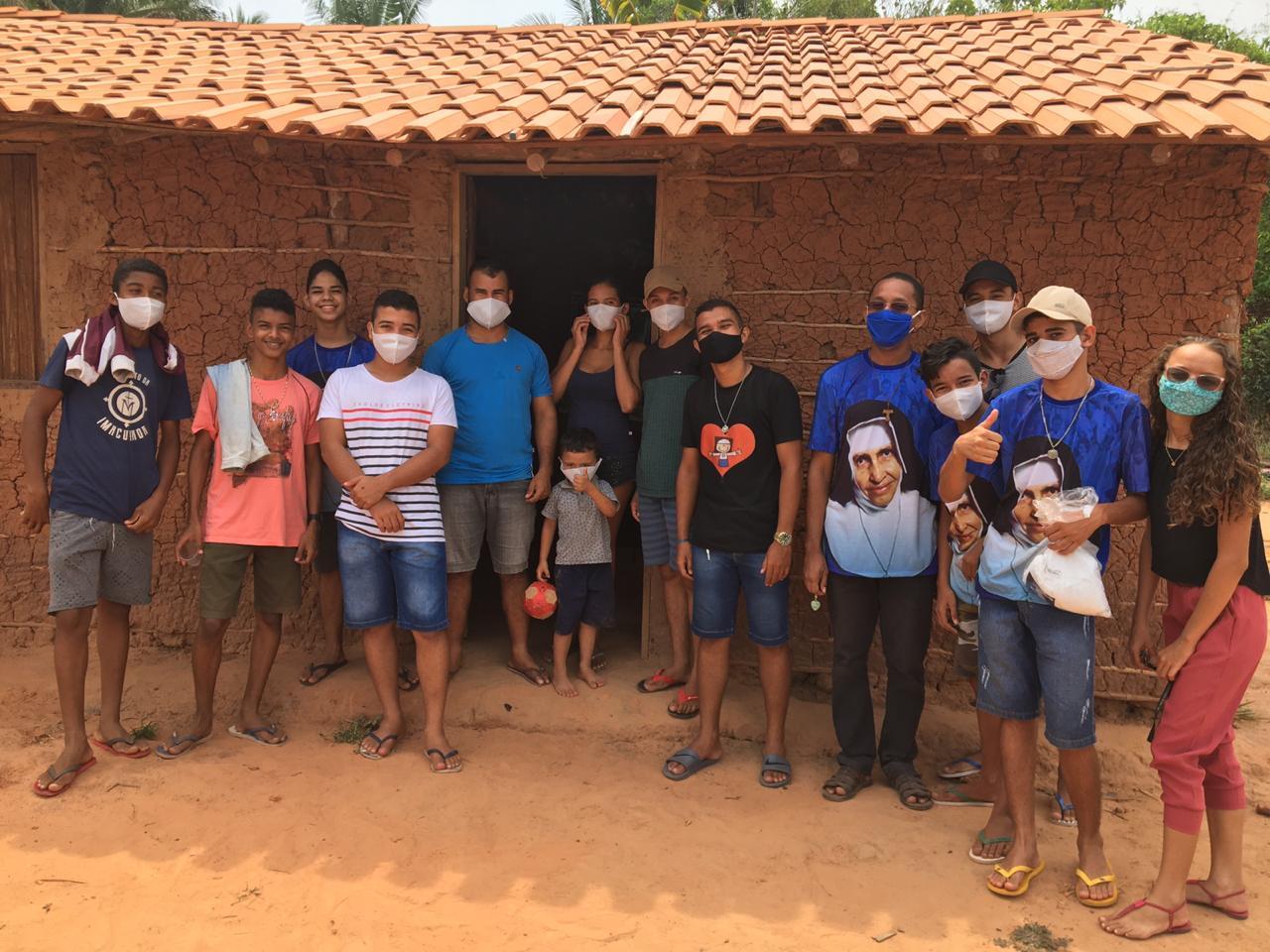 Jovens dão continuidade ao projeto Santa Dulce dos Pobres em Lago dos Rodrigues – MA