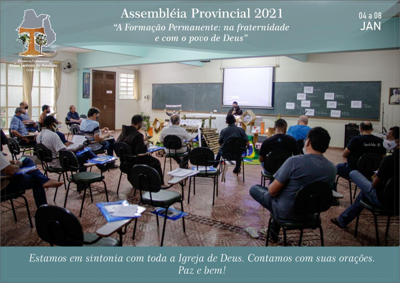 Assembléia Provincial 2021 – Avaliando e revisando nosso Projeto de Vida e Missão