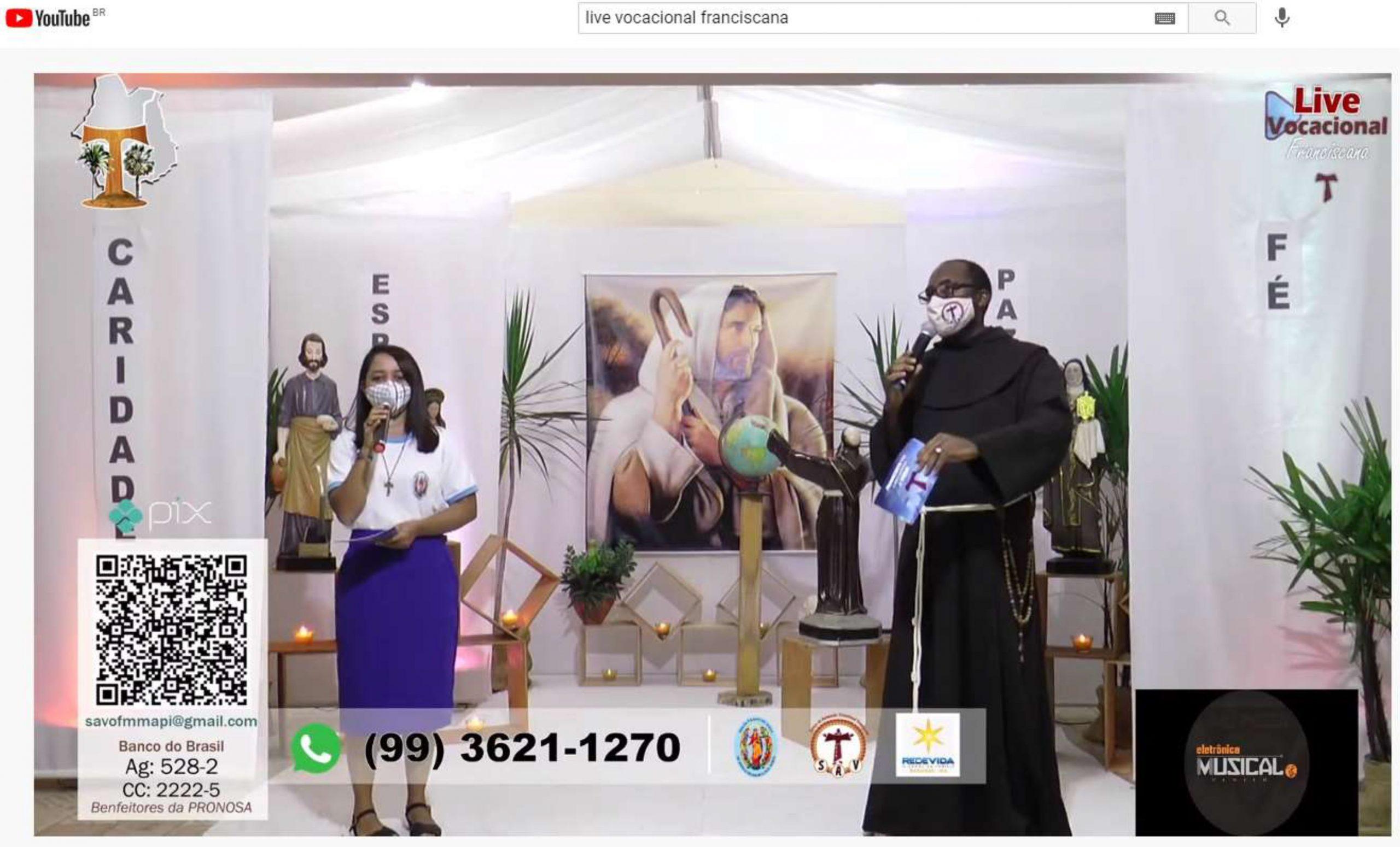 SAV promove Live para o despertar vocacional