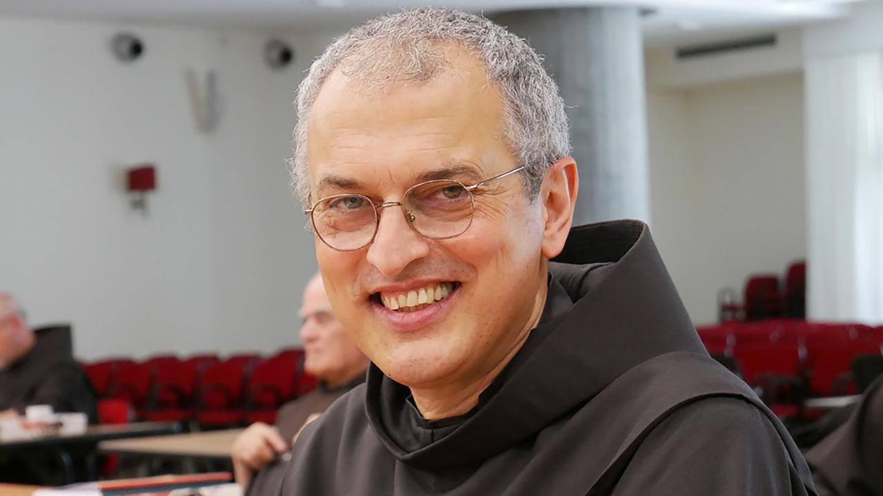 Eleito novo Ministro Geral da Ordem dos Frades Menores: Frei Massimo Fusarelli